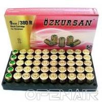 Патрон холостой Ozkursan  9mm (50шт)